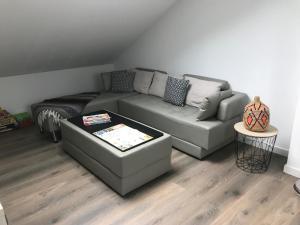 "A seating area at Chez Karim et Malou ""Nuit étoilée"""