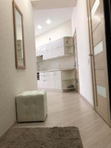 Кухня или мини-кухня в Apartment Anapa Pearl
