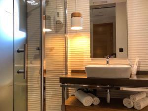 Un baño de Casa do Maestro