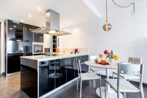 Una cocina o zona de cocina en Apartment Jobi duplex