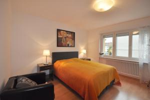 Ein Bett oder Betten in einem Zimmer der Unterkunft Swiss Star Hard Bridge - contactless self check-in