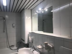 Łazienka w obiekcie Appartement Posthäusl