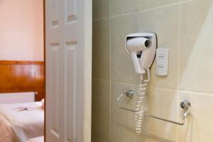 A bathroom at Hotel Albatros