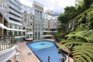 溪頭米堤大飯店游泳池或附近泳池