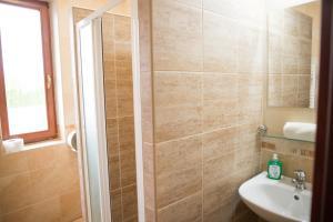Kúpeľňa v ubytovaní Penzión Stefarez New