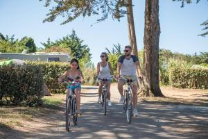 Vélo sur le terrain de l'établissement Camping Les Grenettes ou dans les environs