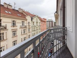 Balcone o terrazza di Golden Prague Rooms