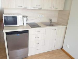 Küche/Küchenzeile in der Unterkunft Agava