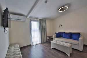 منطقة جلوس في Kavala Hotel