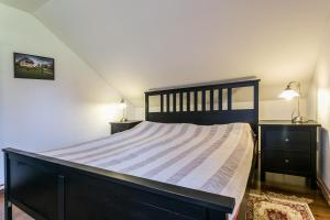 Postel nebo postele na pokoji v ubytování Villa Lypche