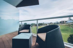 A balcony or terrace at Iberostar Selection Lagos Algarve