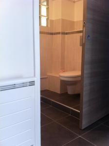 A bathroom at Gîte Polema