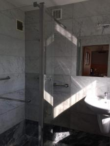 Łazienka w obiekcie Agroturystyka Siedlisko pod dębami
