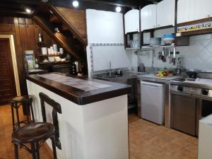 A kitchen or kitchenette at Agroturismo Iturbe