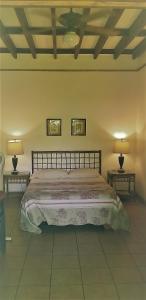 Un ou plusieurs lits dans un hébergement de l'établissement Playa Negra Guesthouse