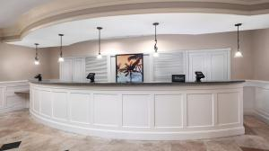 The lobby or reception area at DoubleTree by Hilton Sunrise - Sawgrass Mills