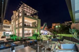 Restauracja lub miejsce do jedzenia w obiekcie Hotel Teranea