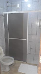A bathroom at Hotel Maringa