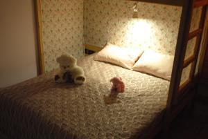Кровать или кровати в номере Hostel Спи Здесь