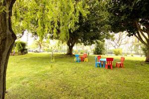 Children's play area at Luna Olympus