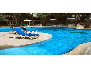 The swimming pool at or near Senegambia Beach Hotel