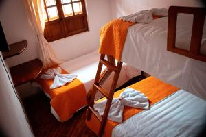 A bunk bed or bunk beds in a room at Santa Lucia de la villa