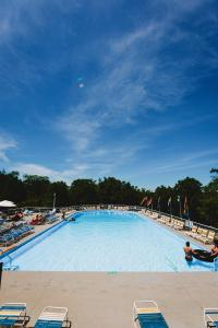 The swimming pool at or close to Rainbow Mountain Resort - LGBTQ Friendly