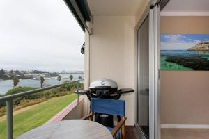 A balcony or terrace at Riverside Arthouse