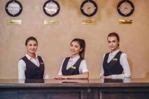 Лобби или стойка регистрации в Гостиница Барнаул