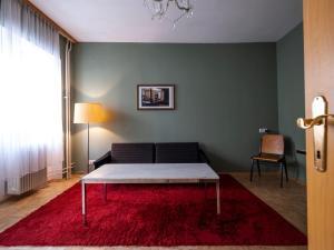 A seating area at Hotel Am Brillantengrund