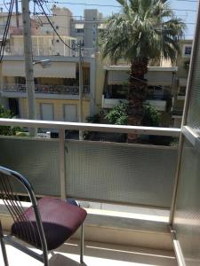 A balcony or terrace at Omiros