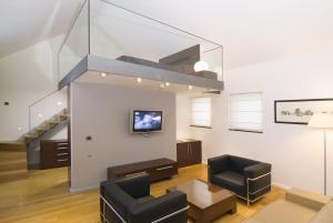 A seating area at Hotel Vestibul Palace & Villa - Small Luxury Hotels Of The World