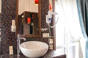 Ванная комната в Hotel DaLi