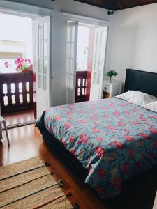 Uma cama ou camas num quarto em Domus Avocat