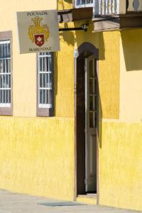 A fachada ou entrada em Pousada Marendaz