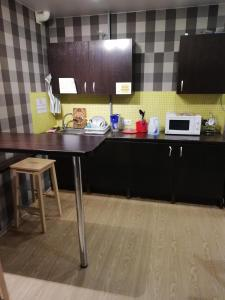 Кухня или мини-кухня в Zokol Hostel