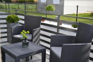 Balkon lub taras w obiekcie Apartamenty Blanca