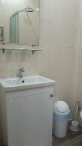 A bathroom at Motel Xameleon