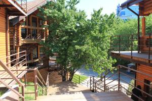 A view of the pool at Chalet Rostov or nearby