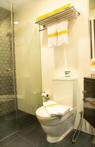 Ein Badezimmer in der Unterkunft Nostalgia Hotel (SG Clean)