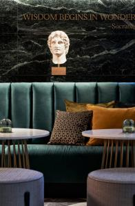 A seating area at Academias Hotel, Autograph Collection