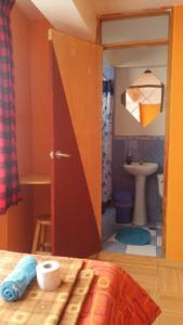 Salle de bains dans l'établissement Caroline lodging