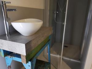 Een badkamer bij B&B The Project