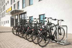 Biking at or in the surroundings of Super 8 by Wyndham Oberhausen am Centro