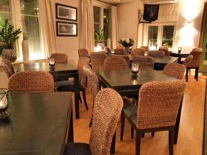 En restaurang eller annat matställe på Maude´s Hotel Enskede Stockholm