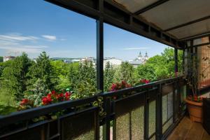 Balkon lub taras w obiekcie Kazimierz Apartment