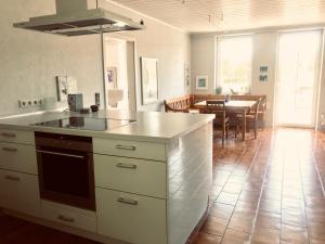 A kitchen or kitchenette at Talmühle Hirtscheid