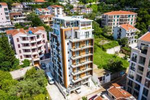 Vaade majutusasutusele Hotel Lusso Mare by Aycon linnulennult