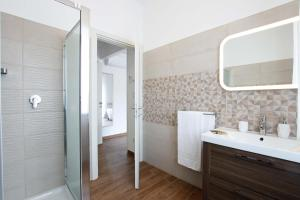 A bathroom at Affittacamere Sabri