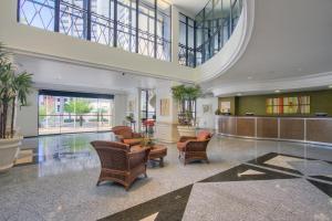 The lobby or reception area at Tulip Inn Fortaleza